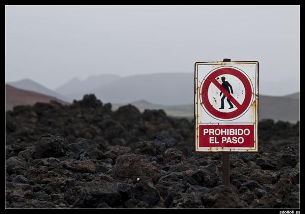 Prohibido el paso - adolfofl.es